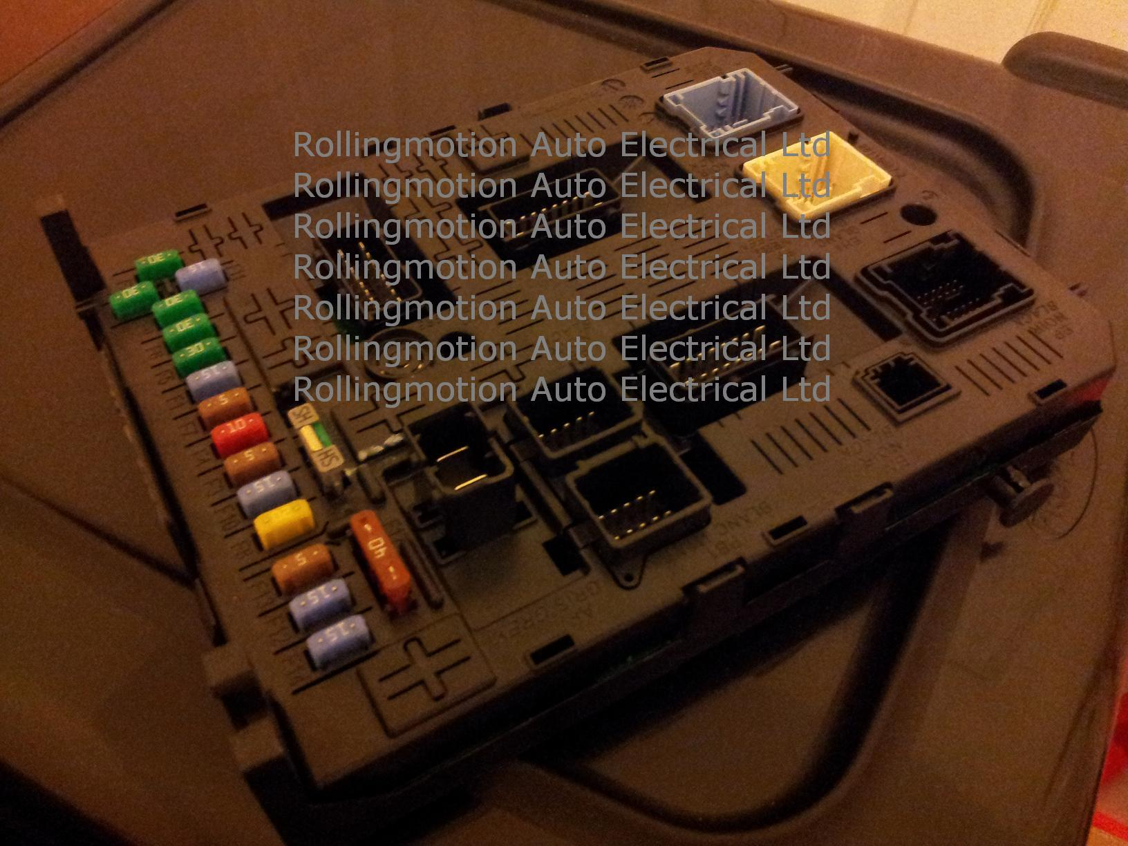 Psa Bsi Repairs Citroen Dispatch Central Locking Wiring Diagram Jc 3052